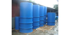 DIA 4 FT X H 4 FT FLAT BOTTOM (WATER CAPACITY 1.4 TON)  =  Rm 550 / UNIT