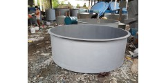 DIA 8 FT X H 3 FT FLAT BOTTOM (WATER CAPACITY 4.3 TON)  =  Rm 1200 / UNIT