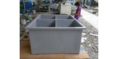 BIO FILTER TANK - L 5 FT X W 6.5 FT X H 3 FT WITH 4 DIVIDER + TOP COVER (2.8 TON) = RM 2800 / UNIT
