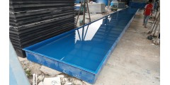 PLANT TRAY L 20 M X W 1.8 M X H 0.3 M ( 10 TON ) = RM 7,000 / UNIT ( 2 PARTS JOINT )