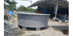 DIA 12 FT X H 4 FT FLAT BOTTOM & LEG 12 INCHES (12.5 TON) = RM 4,500 / UNIT
